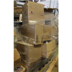 PALLET OF DISPOSABLE CONTAINERS,CONDIMENT SQUEEZE