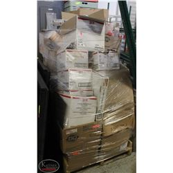 PALLET OF DISPOSABLE CONTAINERS,MANY ASSORTED CUPS