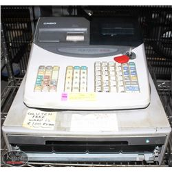 CASIO PCR-T2000 ELECTRONIC CASH REGISTER. AS IS