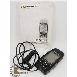 LOWRANCE IFINDER GPS