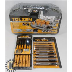 SEALED TOLSEN 9 PC HOLESAW SET