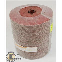 "BUNDLE OF 24 GRIT- 5"" GRINDING DISCS 50 COUNT"