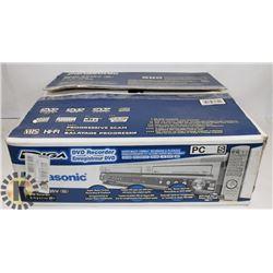 PANASONIC DVD RECORDER MODEL DMR-ES35V