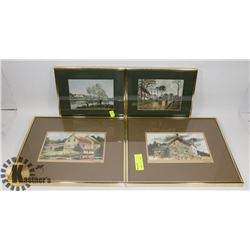 ESTATE COLLECTION OF FRAMED ARTWORK