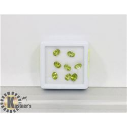 #90-GENUINE PERIDOT LOOSE GEMSTONE 7.0CT