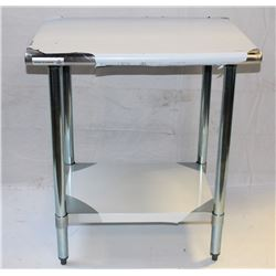 "WORKTABLE S/S 24""X30X""34"" & UNDERSHELF"