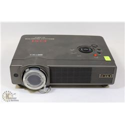EIKI DIGITAL PROJECTOR BY SANYO. 0 HOURS ON BULB