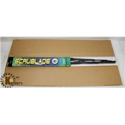 "BOX OF 5 SCRUBLADE 26"" WIPER BLADES."