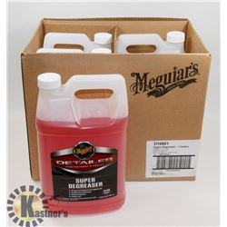 LOT OF 4 MEGUIARS 3.79L SUPER DEGREASER.