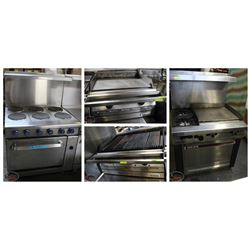 FEATURED LOTS: RANGES, GRILLS & GRIDDLES