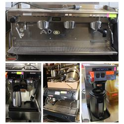 FEATURED LOTS: COMMERCIAL COFFEE & ESPRESSO