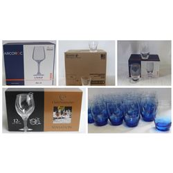 FEATURED LOTS: HIGH END COMMERCIAL GLASSWARE