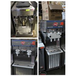 FEATURED LOTS: ICE CREAM MACHINE & FROZEN BEVERAGE