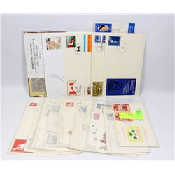 ASSORTED FIRST DAY COVERS