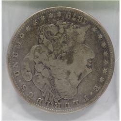 1879 US MORGAN SILVER DOLLAR.