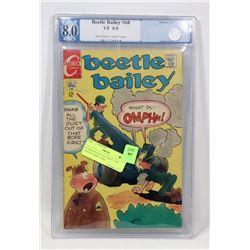 8.0 GRADED BEETLE BAILEY 1969 COLLECTORS COMIC