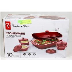 PRESIDENTS CHOICE STONEWARE BAKESET 10 PIECE