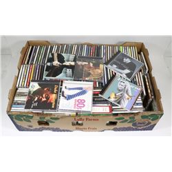 FLAT OF APPROX 150-170 CD'S