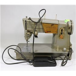 1960'S VINTAGE SINGER 328J SEWING MACHINE