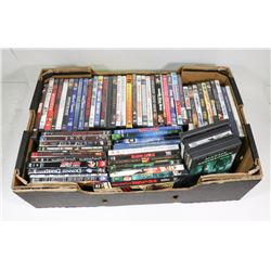 BOX OF APPROX 60 DVD'S