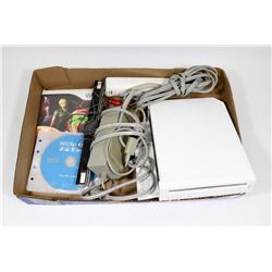 NINTENDO WII GAME SYSTEM WITH METROID, WII SPORTS