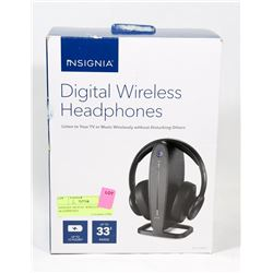 INSIGNIA DIGITAL WIRELESS TV HEADPHONES