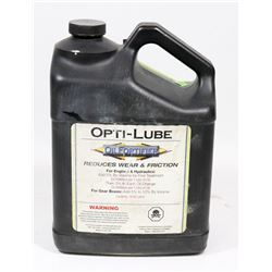 4 LITRE OPTI-LUB OIL FORTIFIER FOR ENGINES &
