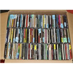 BOX OF 280+ ASSORTED CDS.