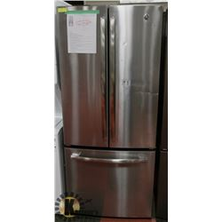GE PROFILE STAINLESS STEEL 20,8 CU FT FRENCH DOOR