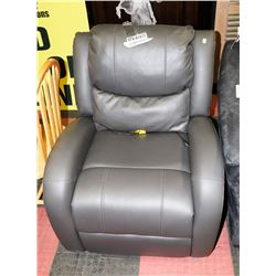 GRAPHITE GREY POWER RECLINING CHAIR