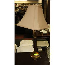 SWING ARM BRASS TABLE LAMP