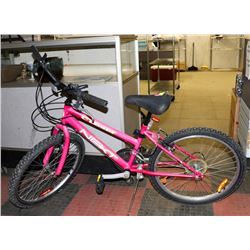 NEXT 18 SPEED PINK BIKE