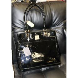 BLACK VERSACE REPLICA TOTE BAG