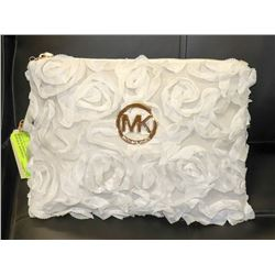 WHITE FLOWER MICHAEL KORES REPLICA  HANDBAG