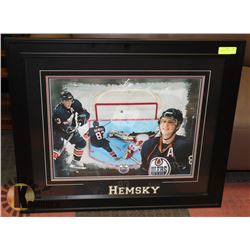 """HEMSKY OILER PICTURE 34"""" X 29"""""""