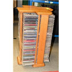 ESTATE ROTATING MEDIA STAND WITH CD'S