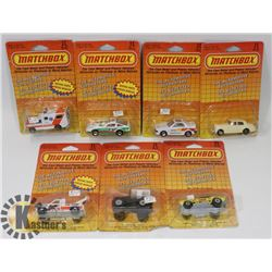FLAT OF MATCHBOX COLLECTORS CARS 1:43 SCALE