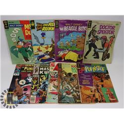FLAT OF VINTAGE GOLD KEY COMICS AND MORE