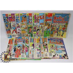 FLAT OF VINTAGE ARCHIE COMICS