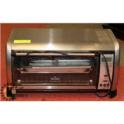 RIVAL TOASTER OVEN STAINLESS COMES WITH TRAYS
