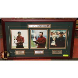 TRIP CROWN 2000 TIGER WOODS COLLECTORS PHOTO