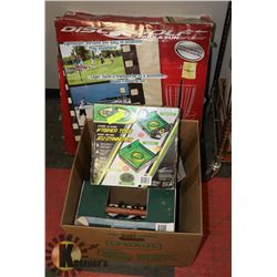 LOT OF ASSORTED LAWN GAMES