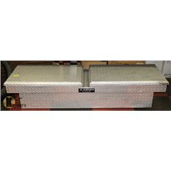 LUND CHALLENGER TRUCKBED TOOL BOX, 5FT X 1FT X 1FT