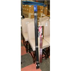 NEW PUSH BROOM WITH 5 HANDLES