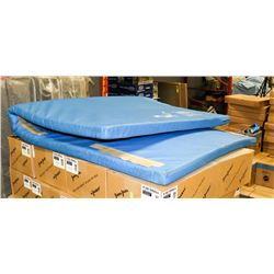 MIDLAND GYM MAT 4 X 8 BLUE