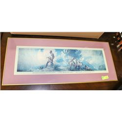 THE DISCOVERER FRAMED PICTURE