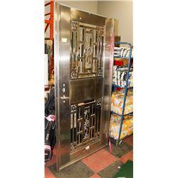 """41.5X82"""" STAINLESS STEEL COMMERCIAL DOOR"""
