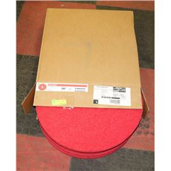 "CASE OF 20"" COMMERCIAL FLOOR PADS"