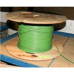 ROLL OF GREEN COPPER WIRE