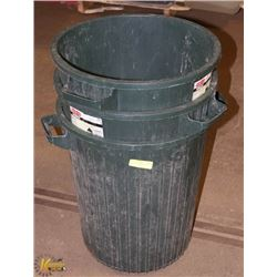3X 98.4 L GREEN GARBAGE/RECYCLE BINS